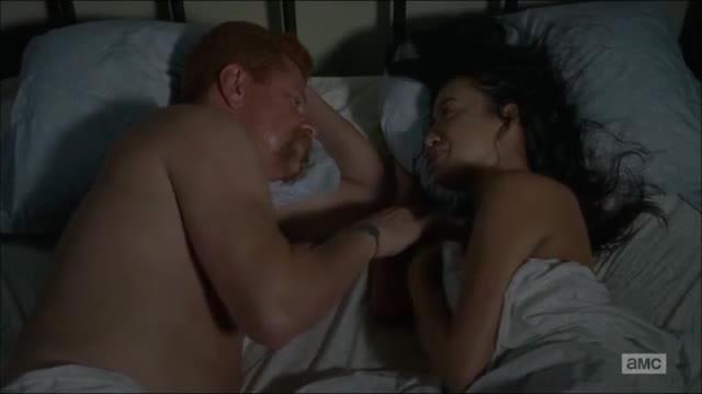 Christian Serratos screentime in The Walking Dead