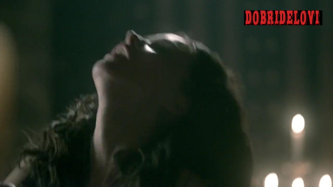 Karen Hassan sex on top scene from Vikings