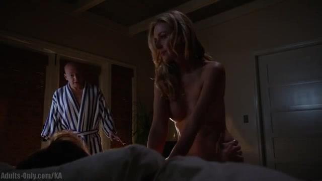 Allison McAtee sexy scene in Californication