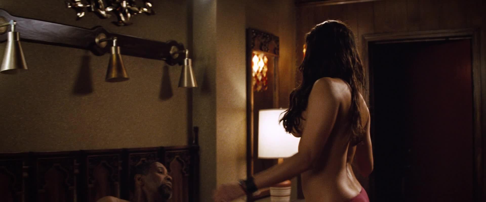 Paula Patton's beautiful breasts video image