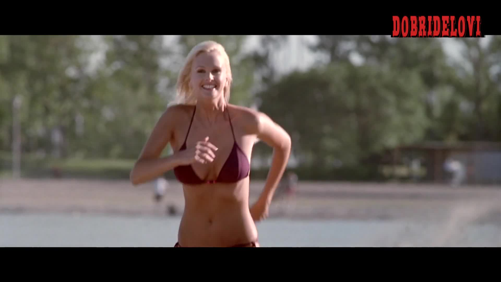 Kylie Bax sexy jiggling boobs from Get Over It