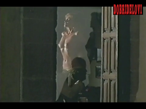 Arielle Dombasle gets undressed with voyeur watching