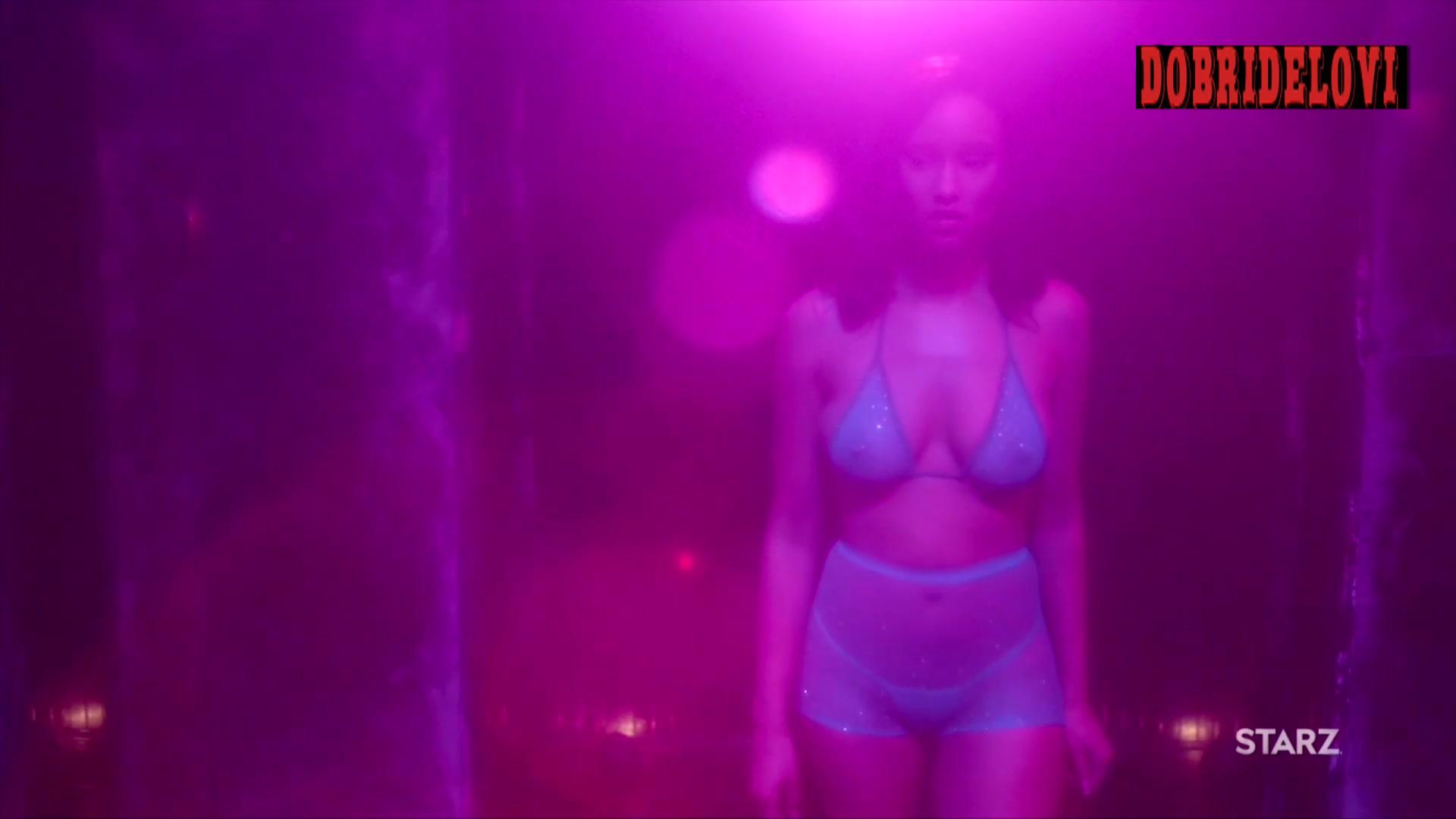 Elarica Johnson stripping scene from P-Valley