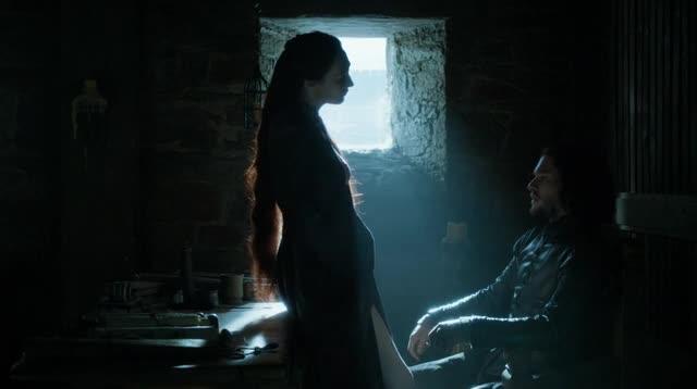 Carice van Houten sexy scene from Game of Thrones