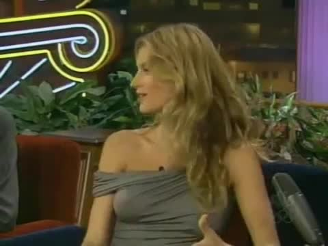 Gisele Bündchen sexy scene from The Tonight Show