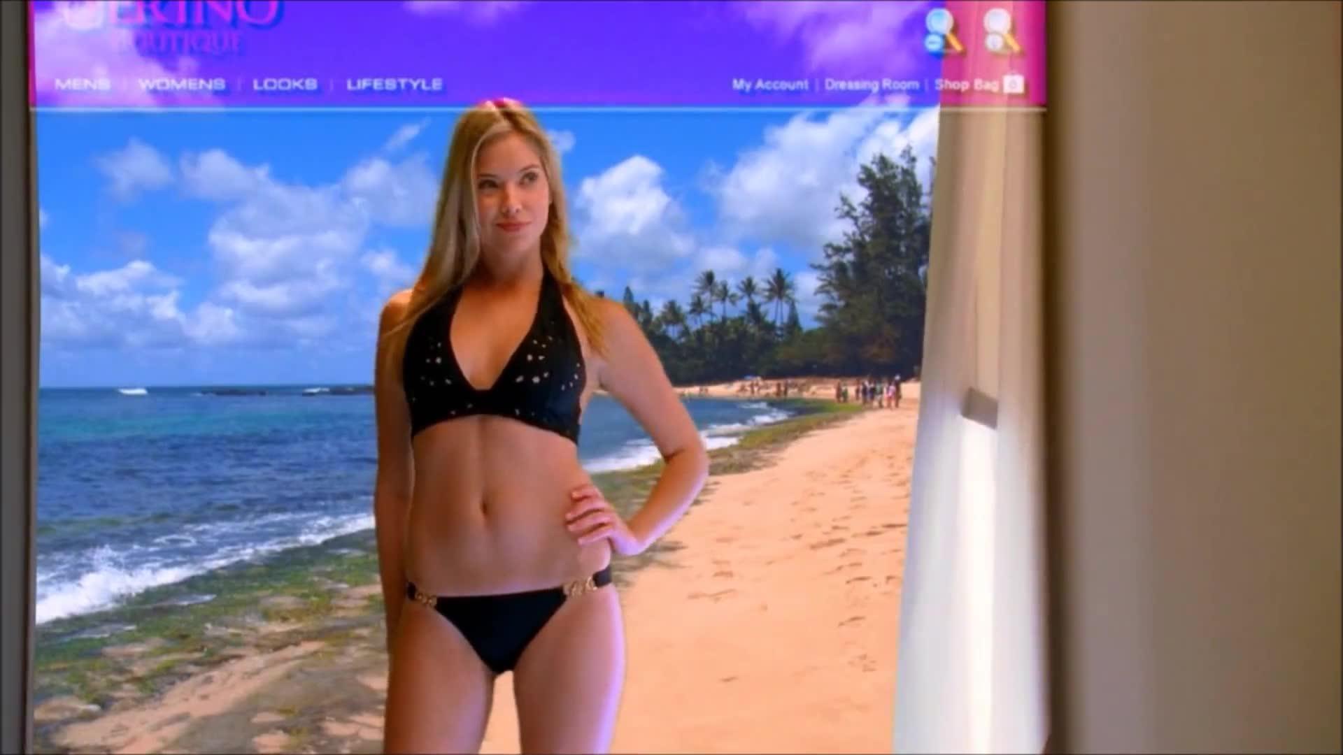 Ashley Benson sexy scene from CSI Miami