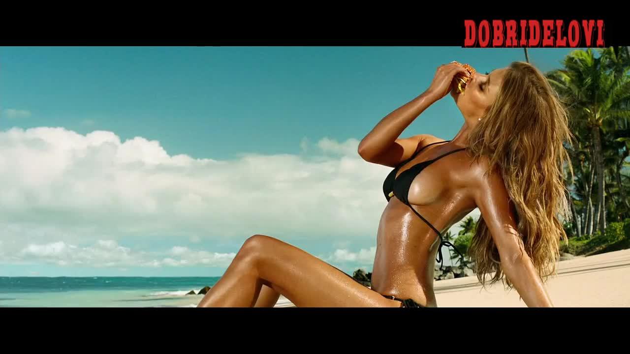 Nina Agdal commercial for Don Jon