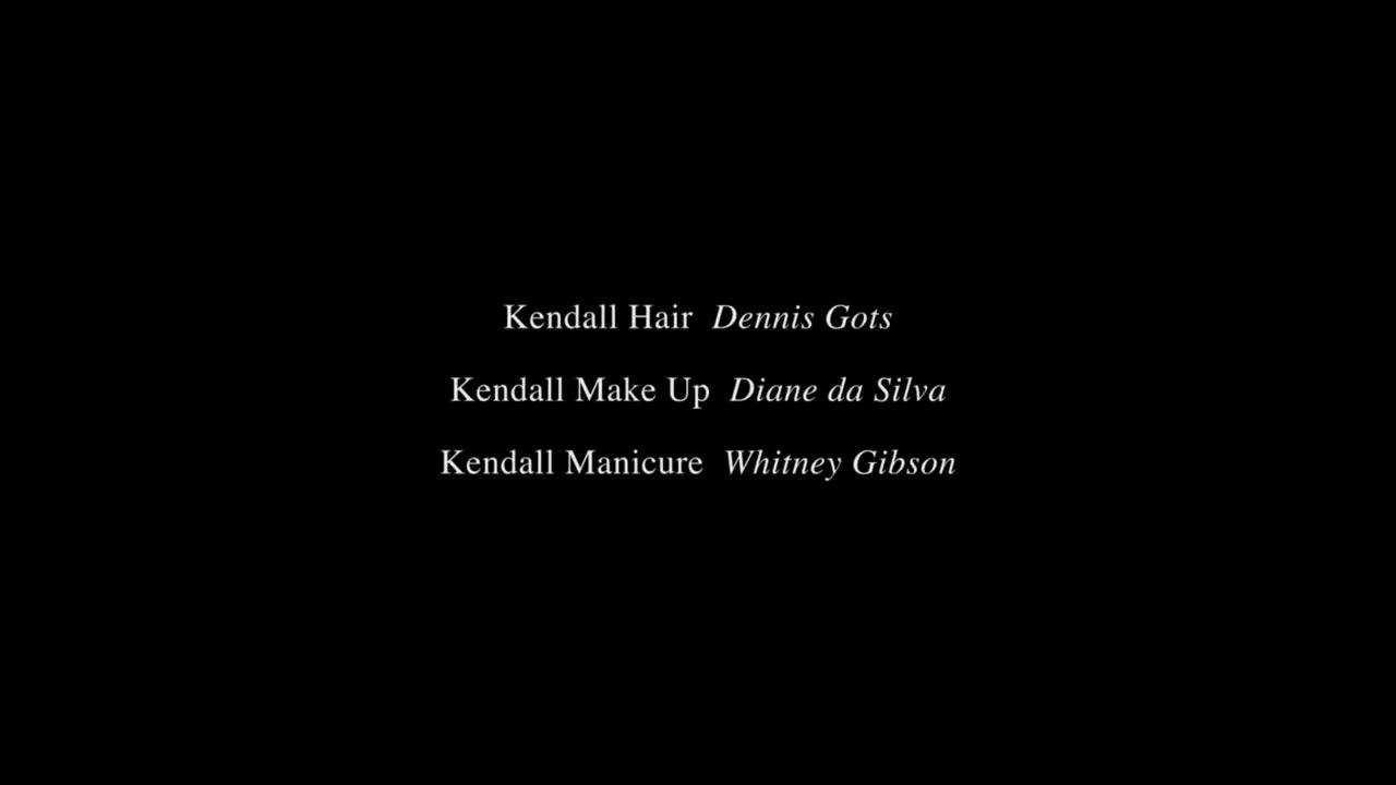 Kendall Jenner scene in love advent