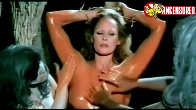 Ursula Andress looks fantastic from Mountain of the Cannibal God
