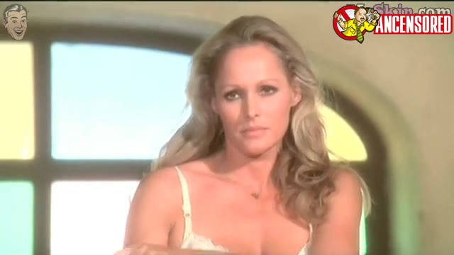 Ursula Andress sexy scene from Loaded Guns