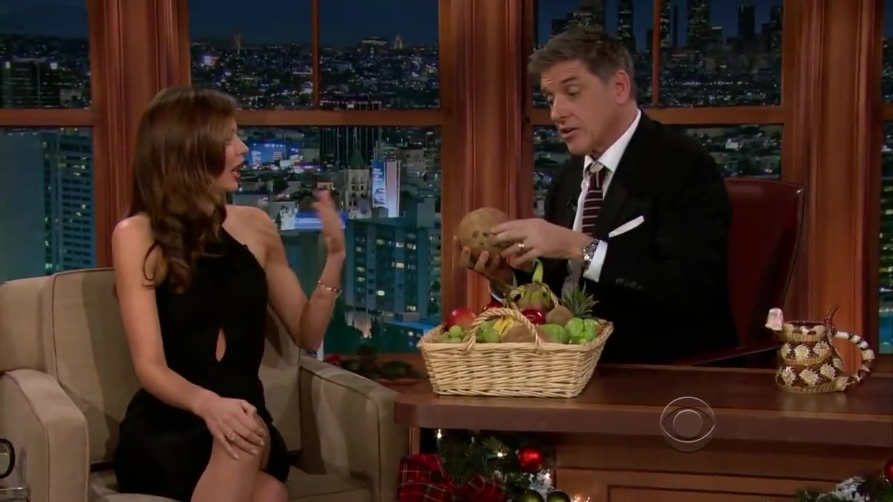 The Late Late Show with Craig Ferguson and Miranda Kerr