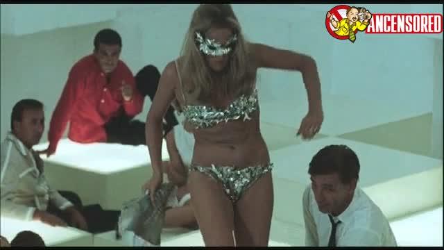 Ursula Andress sexy scene from La Decima vittima