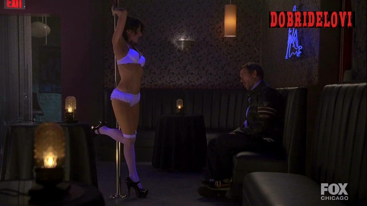 Lisa Edelstein plays to Hugh Laurie school girl fantay in House