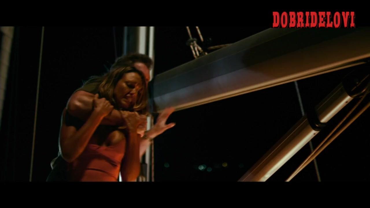 Jessica Alba sex dress scene from Mechanic Resurrection