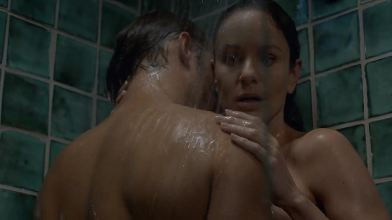 Sarah Wayne Callies gets in the shower with Josh Holloway for Colony