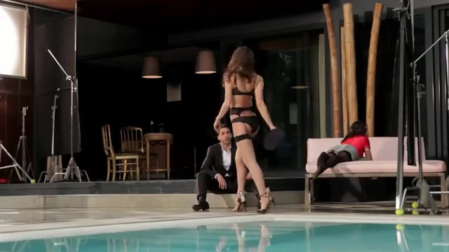 Irina Shayk sexy scene from Agent Provocateur commercial