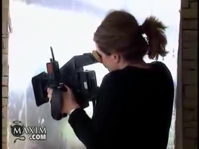 Krista Allen screentime in Maxim Photoshot