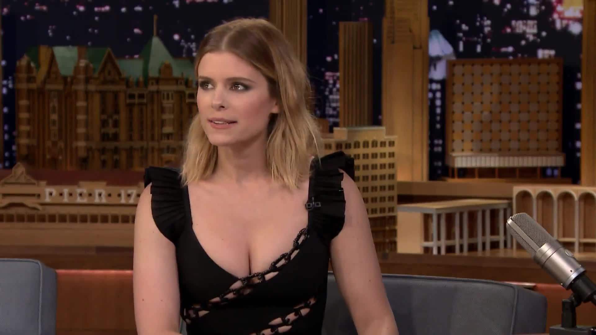 Kate Mara interview with Jimmy Fallon