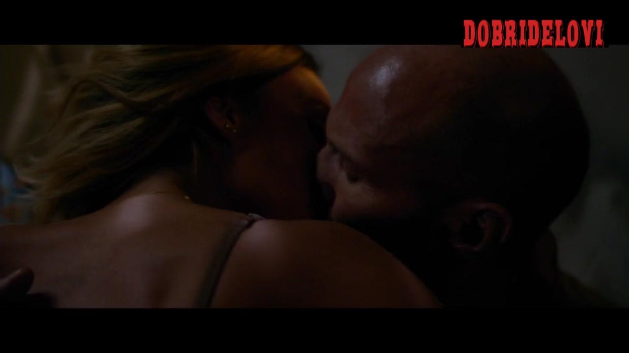Jessica Alba rolls with Jason Statham in Mechanic Ressurection