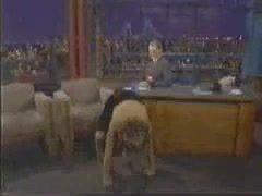 Claire Danes scene - The Late Show with David Letterman
