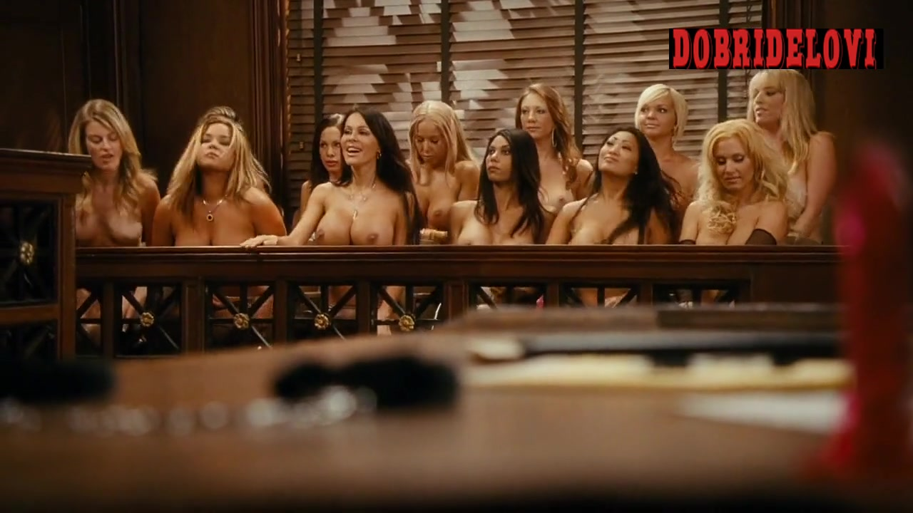 Nicole, Tabitha, Lexi, Josie, Meriah, and Jessica breasts jury members