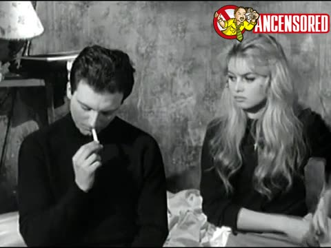 Brigitte Bardot sexy scene