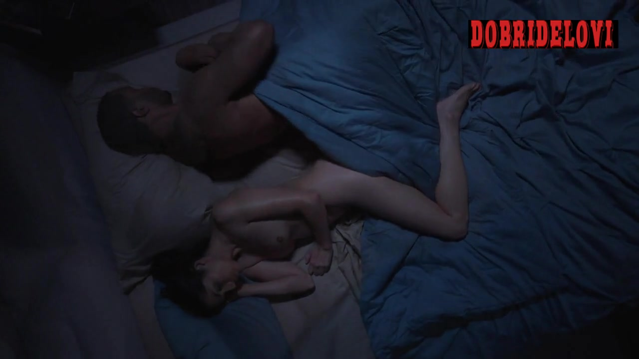 Lela Loren super nude aerial view in the bed from Power