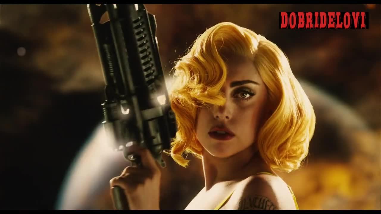 Alexa Vega, Michelle Rodriguez and Lady Gaga sexy trailer Machete Kills