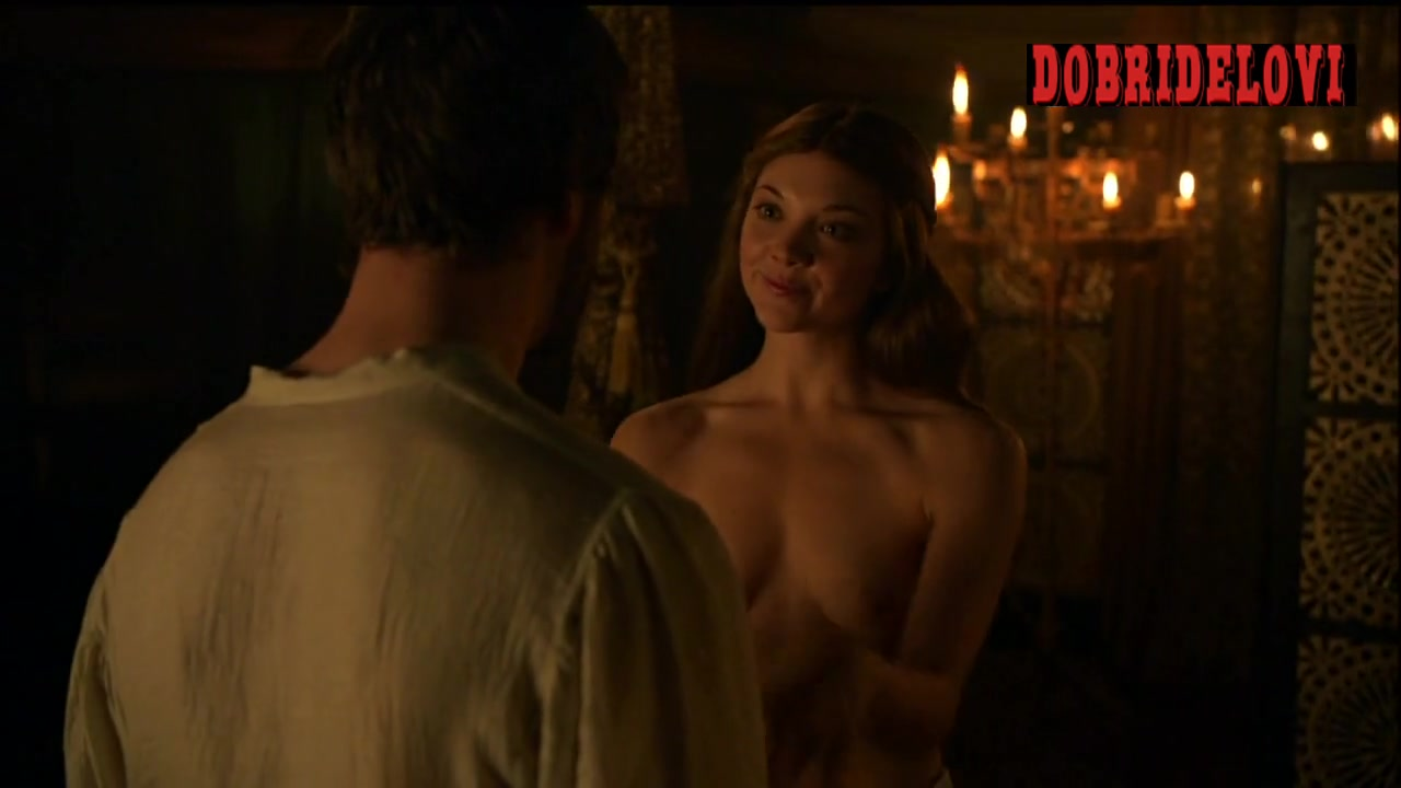 Natalie Dormer undresses for gay husband in Game of Thrones