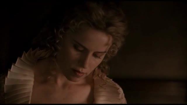 Kristen Bell undressing scene from Deadwood
