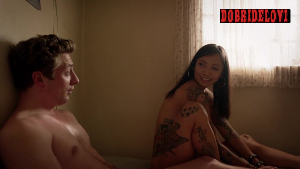 Levy Tran bangs Jeremy Allen White in Shameless