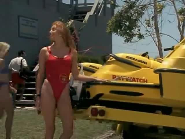 Angelica Bridges must watch clip - Baywatch
