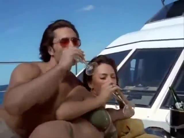 Krista Allen sexy scene from Baywatch