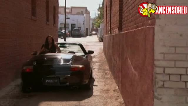 Hank Moody banging hoe in car