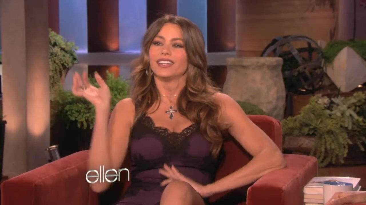 Sofia Vergara interviewed by Ellen Degeneres back in 2012