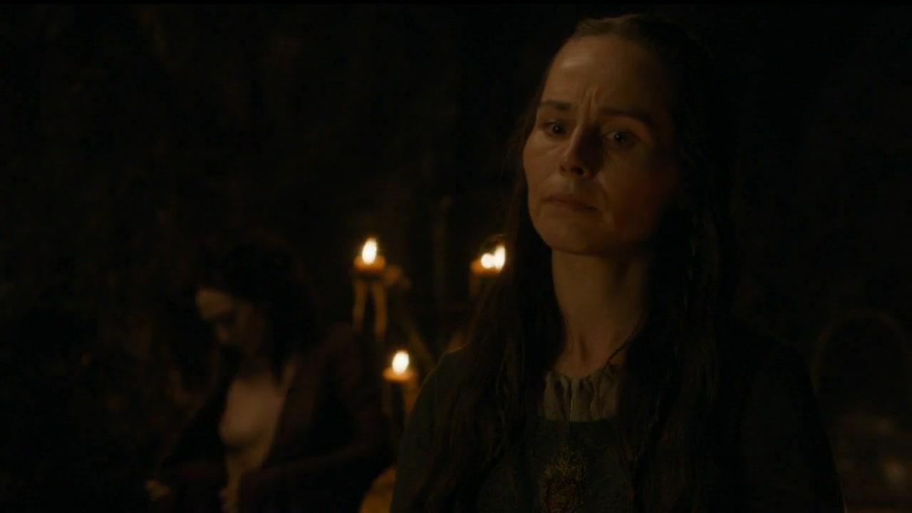 Carice van Houten scene from Game of Thrones