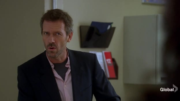 Sneaky Dr. House tricks Dr. Cuddy into bending over