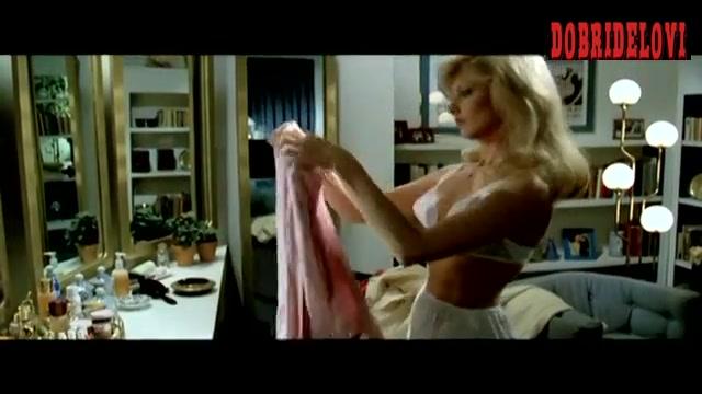 Morgan Fairchild white bra scene from The Seduction
