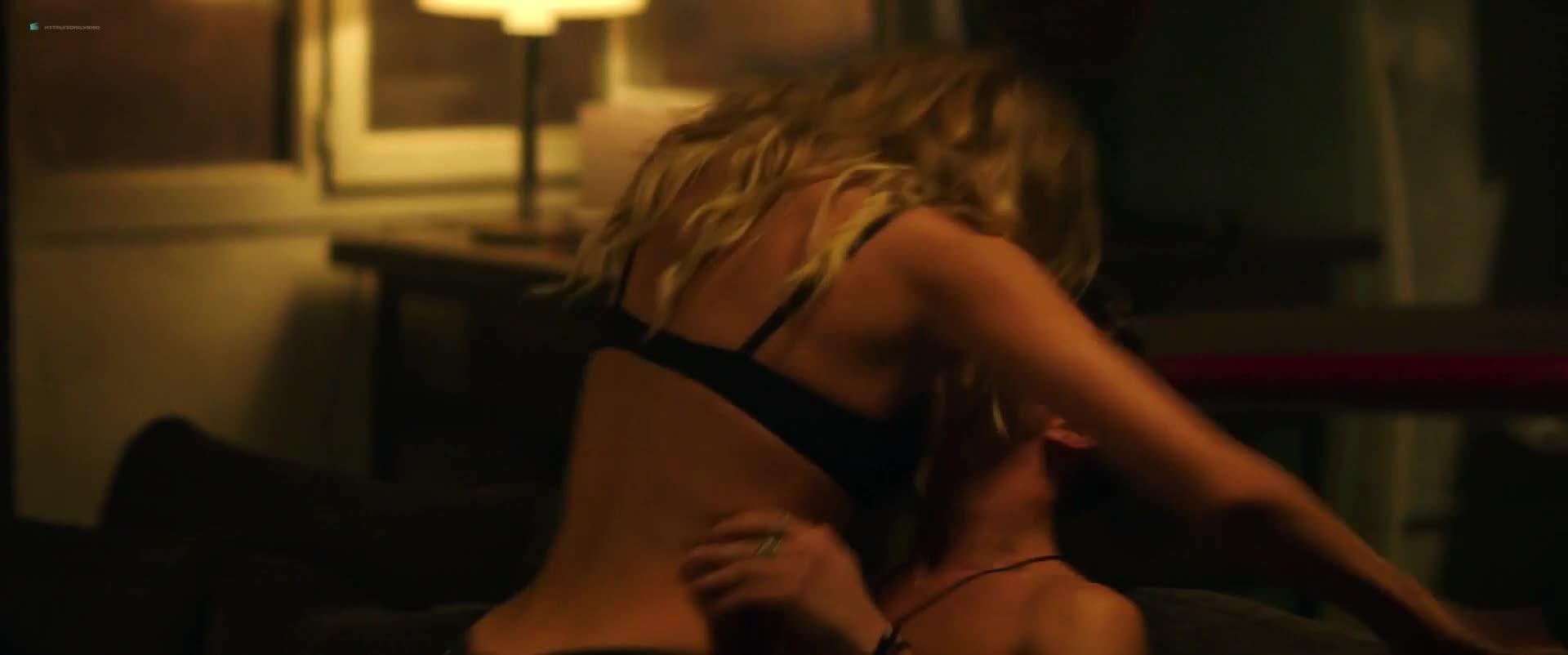 Gaia Weiss sexy scene - overdrive