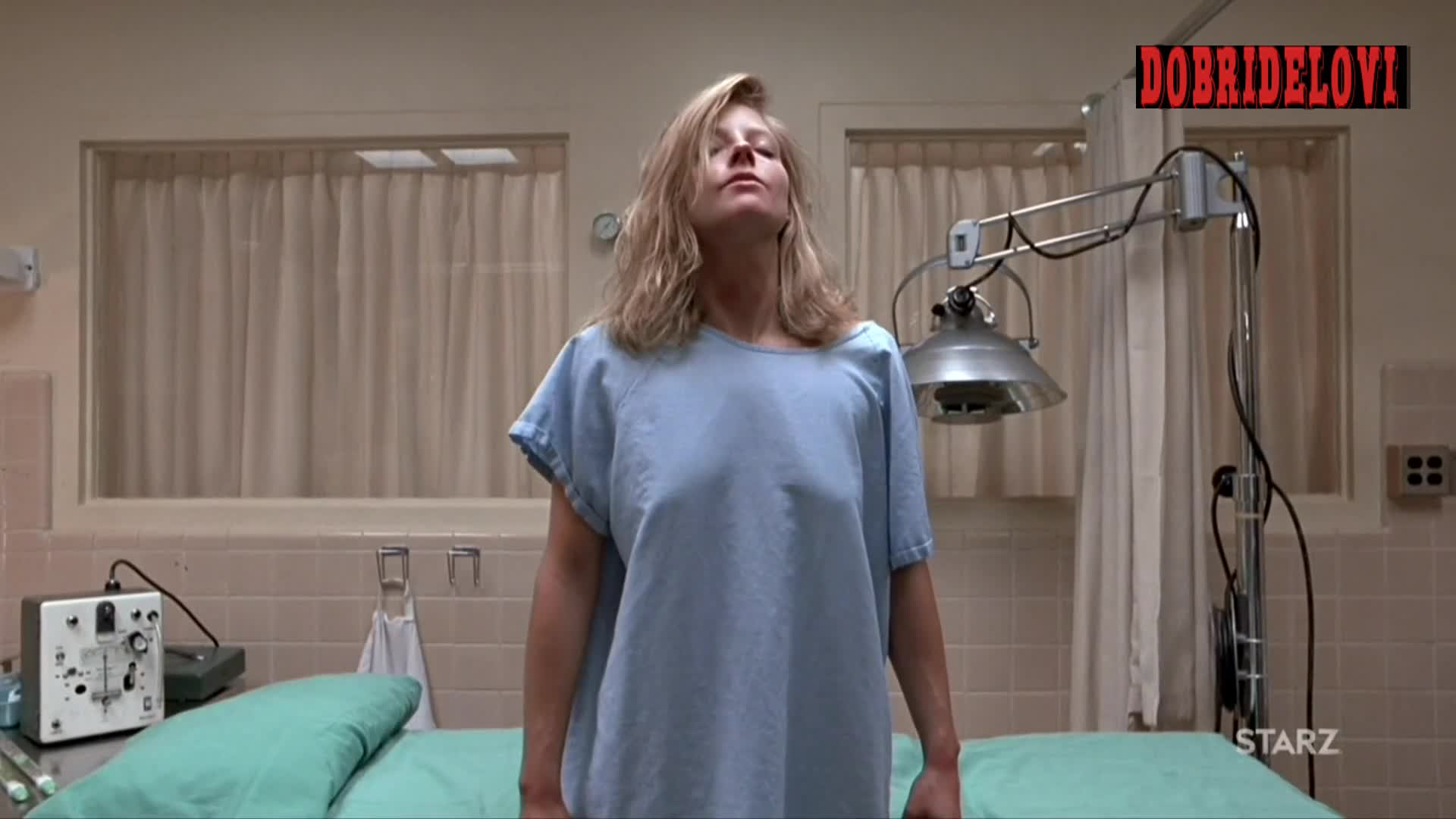 Jodie Foster in the doctor's office scene from The Accused