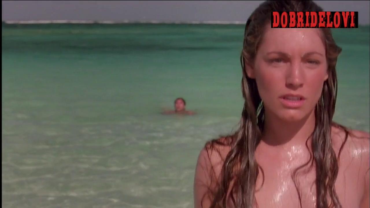 Kelly Brook drops the bikini and show massive tits in Survival Island