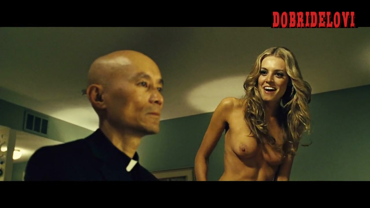 Christine Marzano high heels and nude scene from Seven Psychopaths