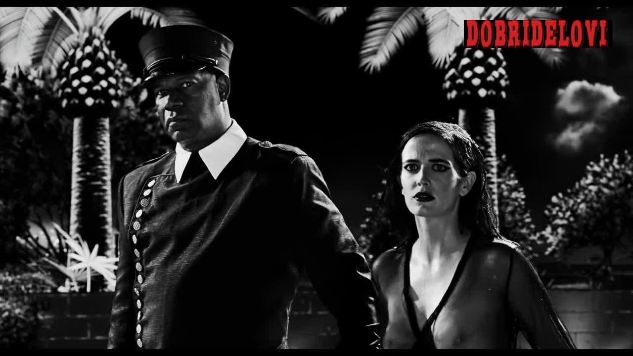 Eva Green sexy pokies scene from Sin City a Dame to Kill For