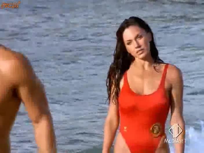Krista Allen looks fantastic from Baywatch