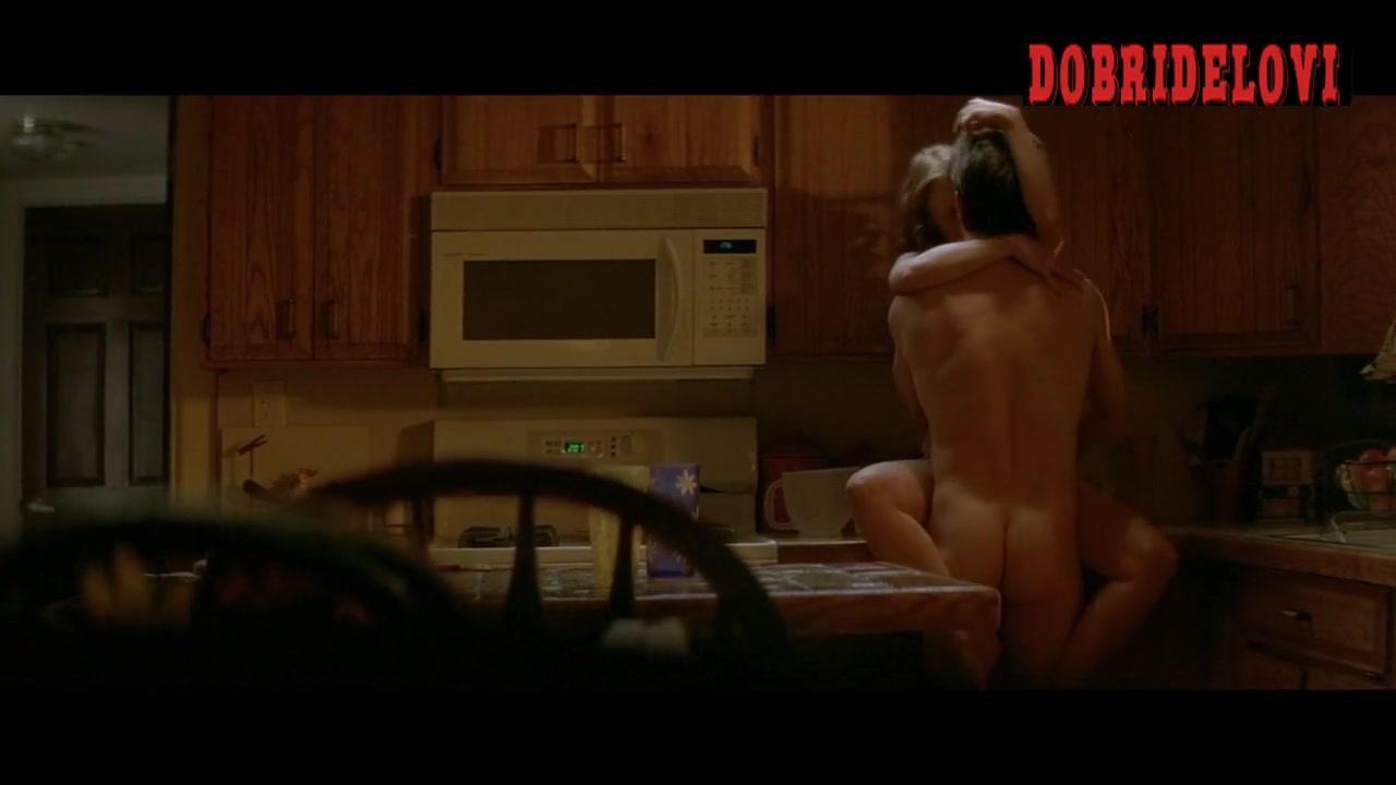 Jessica Chastain sex in the kitchen scene from Jolene