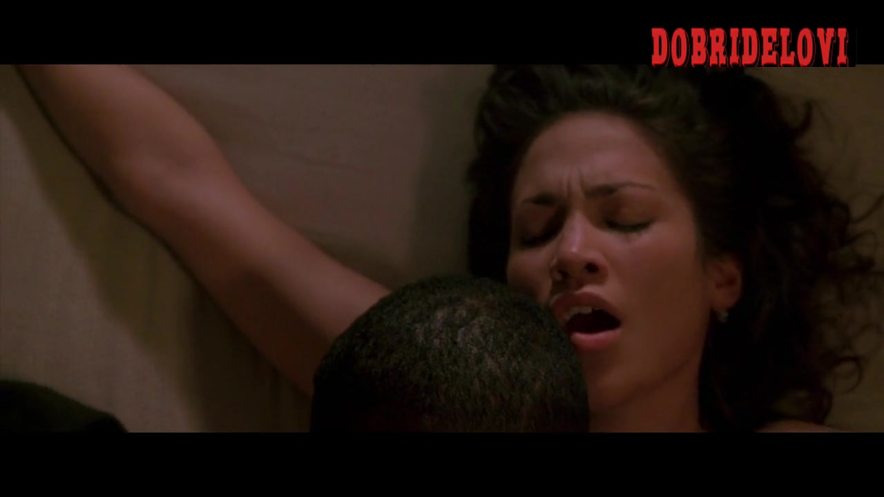 Jennifer Lopez sex scene with Wesley Snipes in Money Train