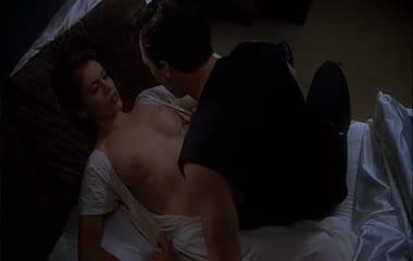 Alyssa Milano sexy scene in Embrace of the Vampire