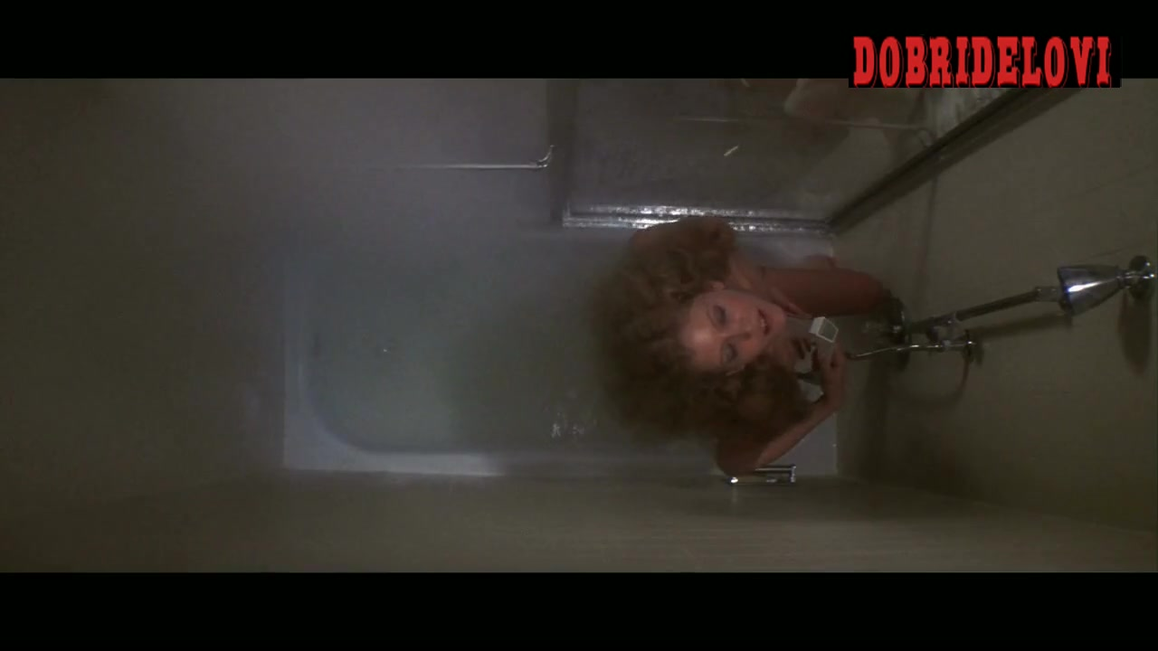 Nancy Allen showering scene from Dressed to Kill