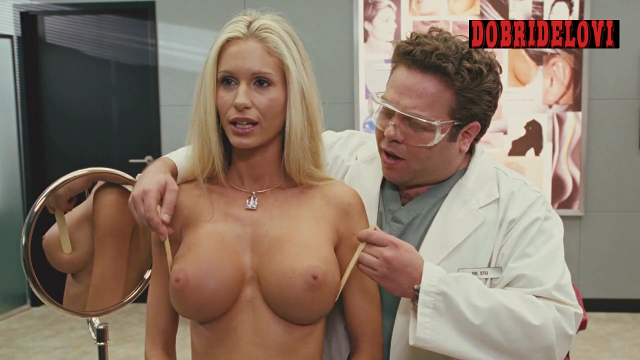 Yasmine Vox exposed breasts scene from Good Luck Chuck