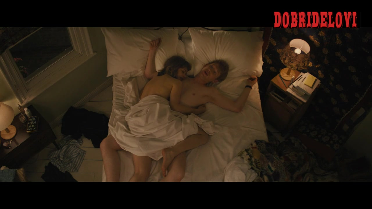 Rachel McAdams after sex scene from About Time